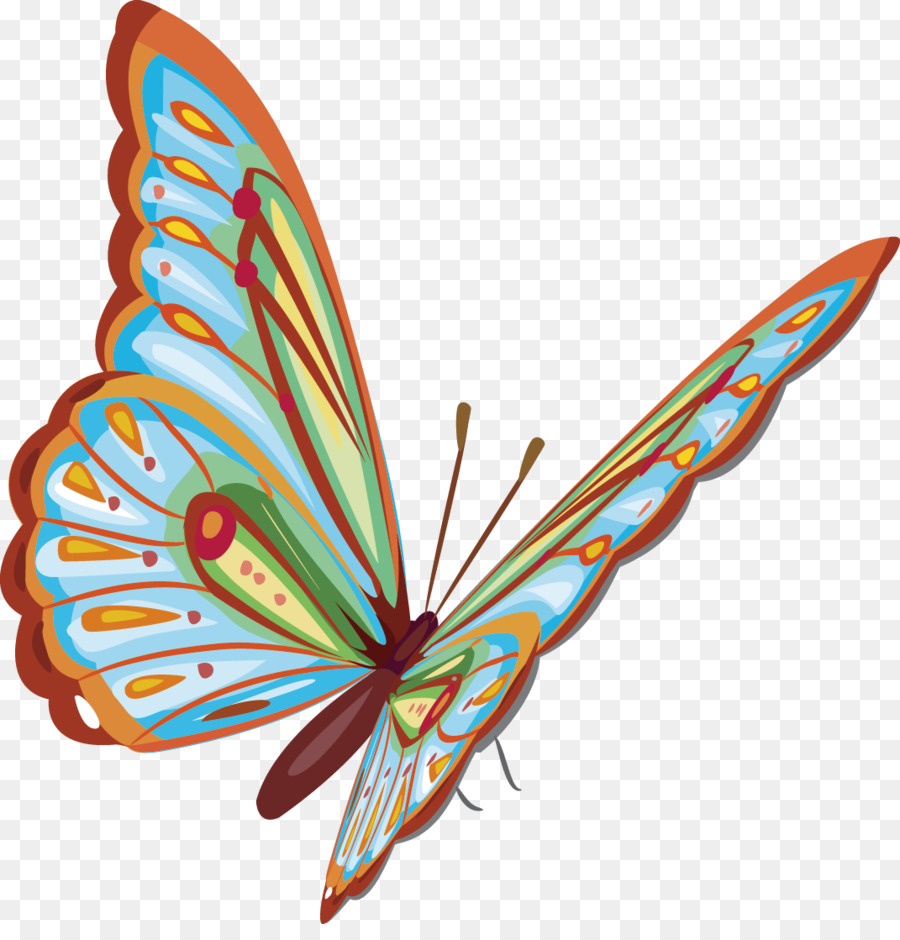 Butterfly Download Clip Art Butterfly Decorative Design Exquisite