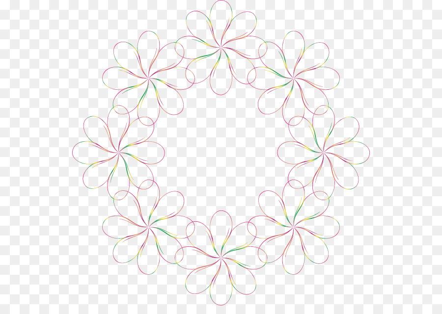 Diseño Floral de la Flor - Coloridas flores de la frontera Formatos ...