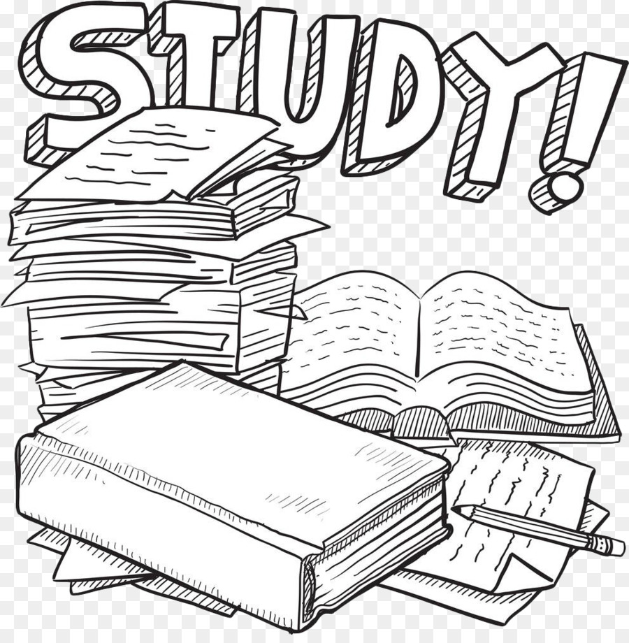 Student Final Examination Test College Clip Art