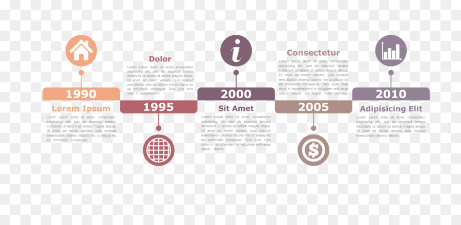 infographic chart diagram timeline ppt infographic design vector