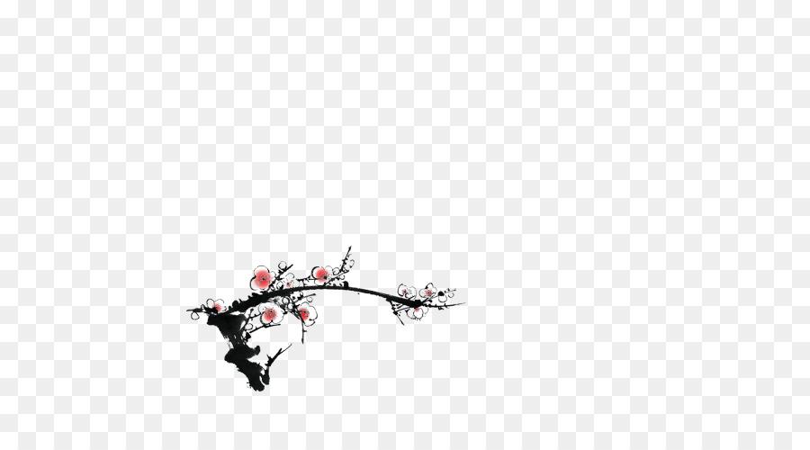Erik çiçeği Mürekkep Boyama çin Resim Inkstick Yıkama Erik çiçeği