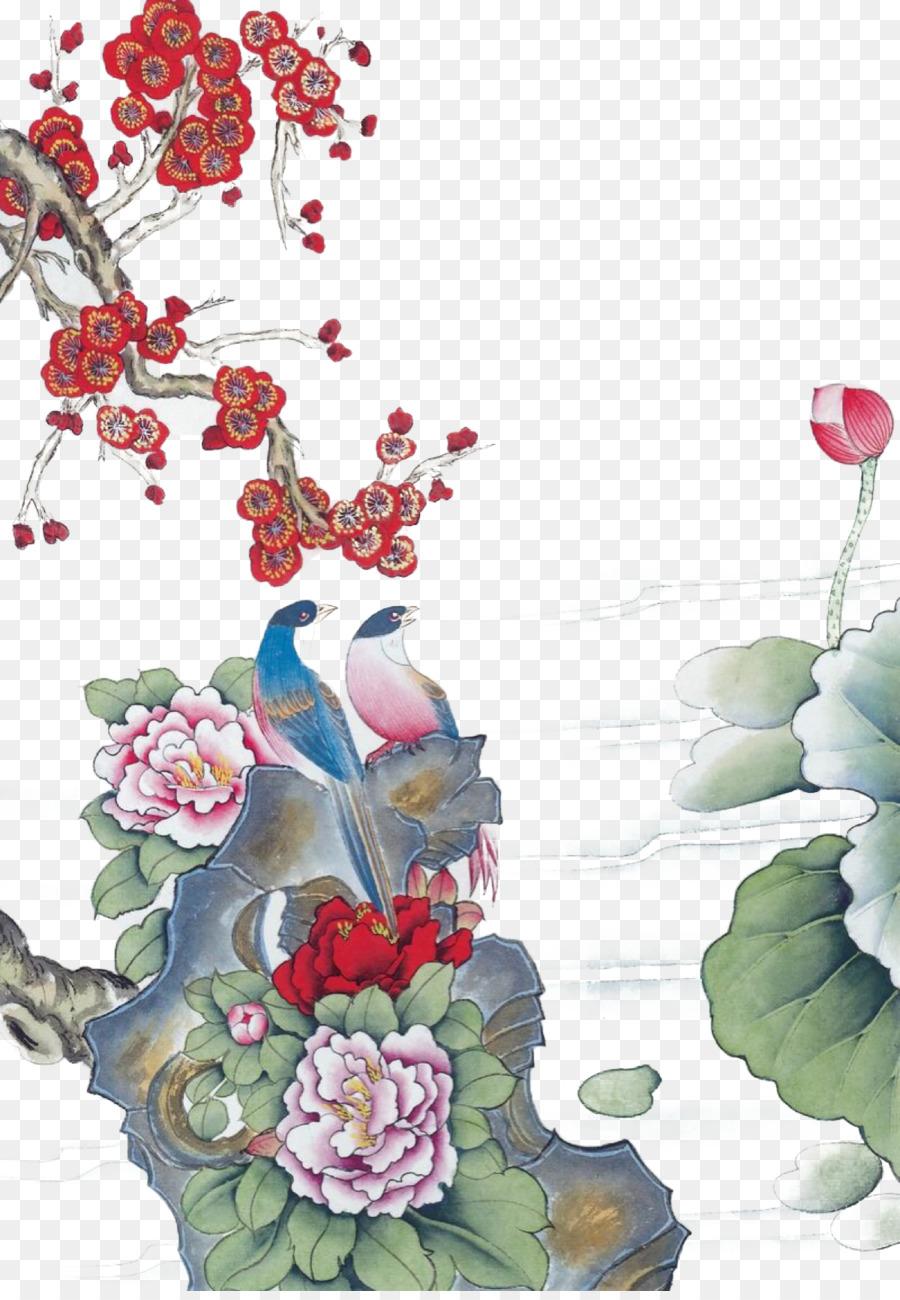 Bird and flower painting ink wash painting chinese painting gongbi bird and flower painting ink wash painting chinese painting gongbi lotus poster izmirmasajfo