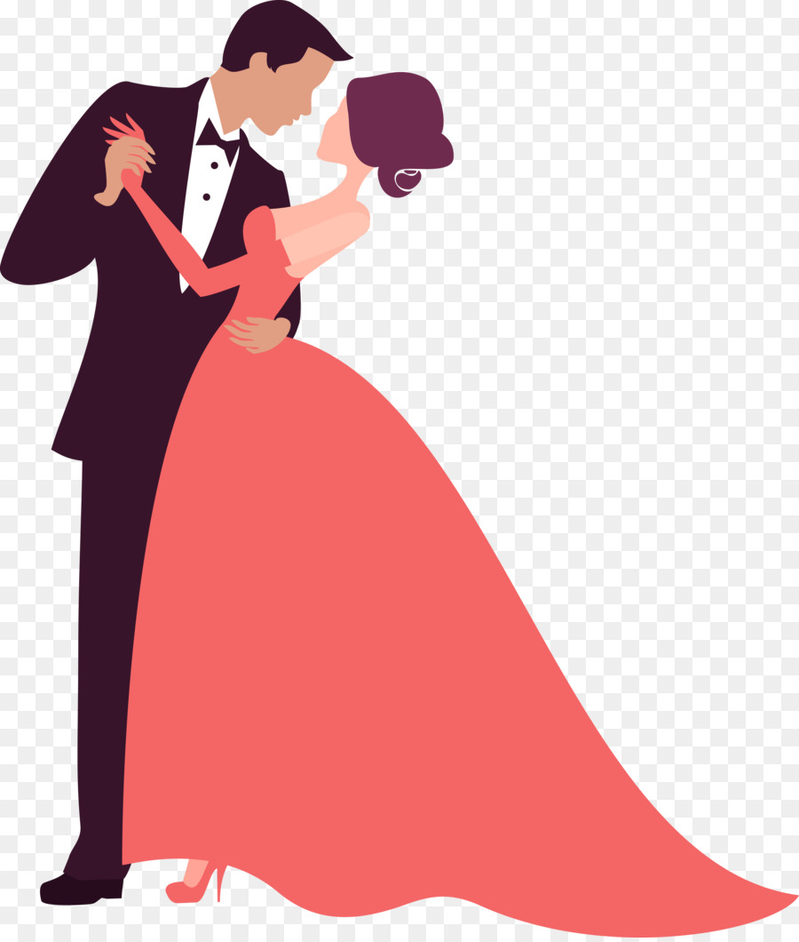 Wedding invitation Bridegroom Silhouette - Vector wedding png ...