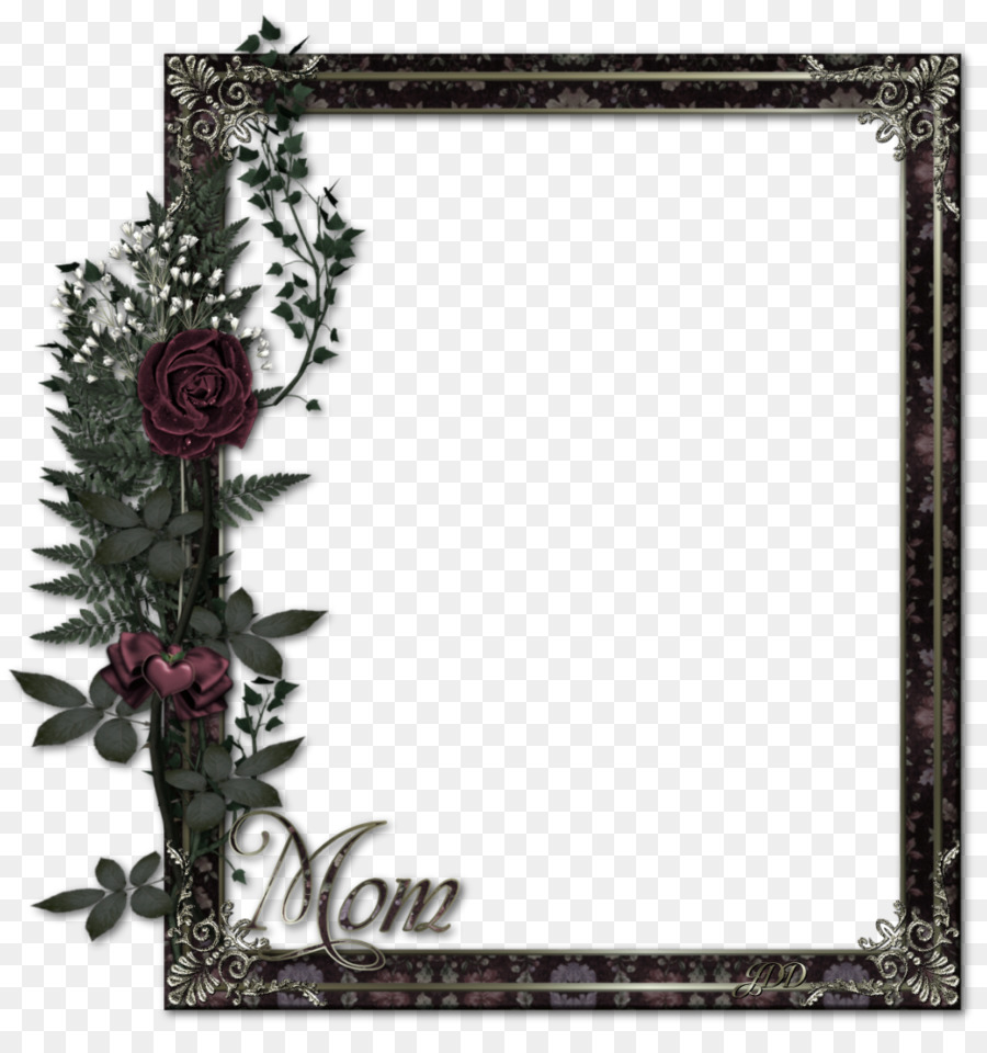 Borders and Frames Picture frame - Brown simple frame bouquet border ...