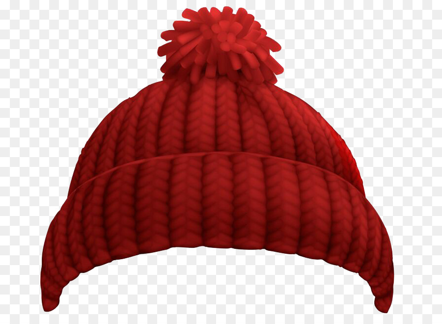 98e7ef69fe0 Hat Knit cap Winter Beanie Clip art - Red wool hat png download - 736 657 - Free  Transparent Hat png Download.