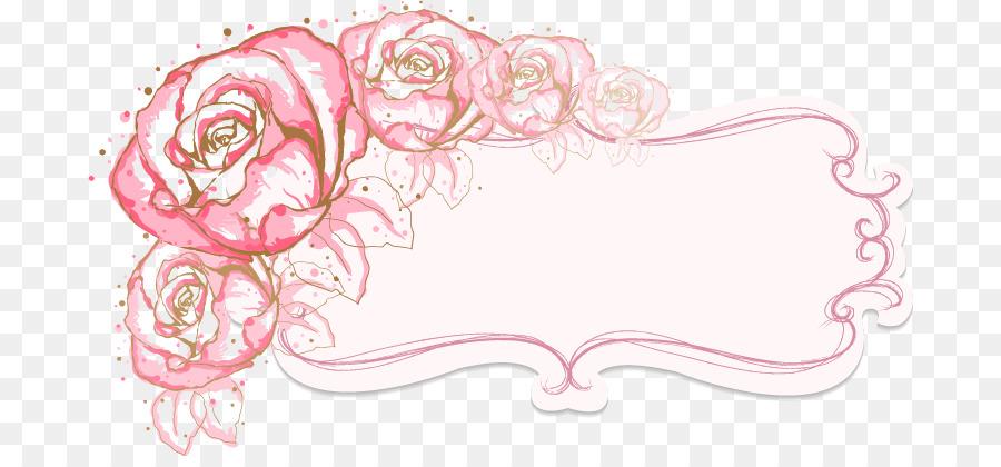 Flower Illustration Vector Flowers Border Png Download 742 411