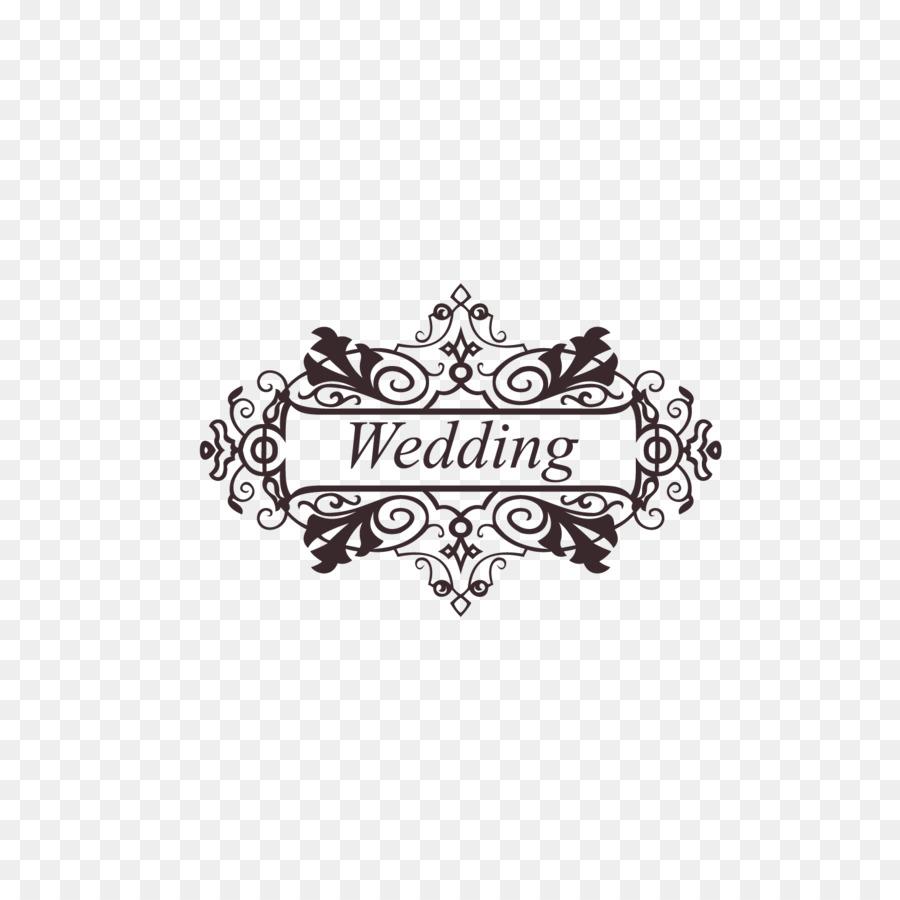 Wedding invitation Ornament Clip art - wedding png download - 1458 ...