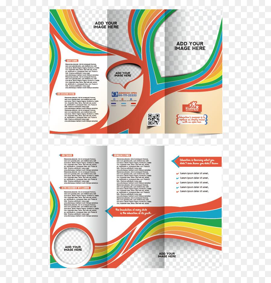 Folleto Plantilla De Flyer - Vector diseño de la portada del álbum ...