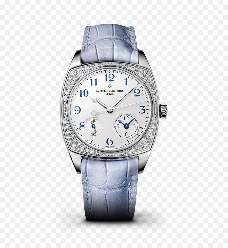 076236a595b Relógio cronômetro de ouro Colorido Movimento de Cronógrafo - Azul relógio  Vacheron Constantin relógios forma de mulher