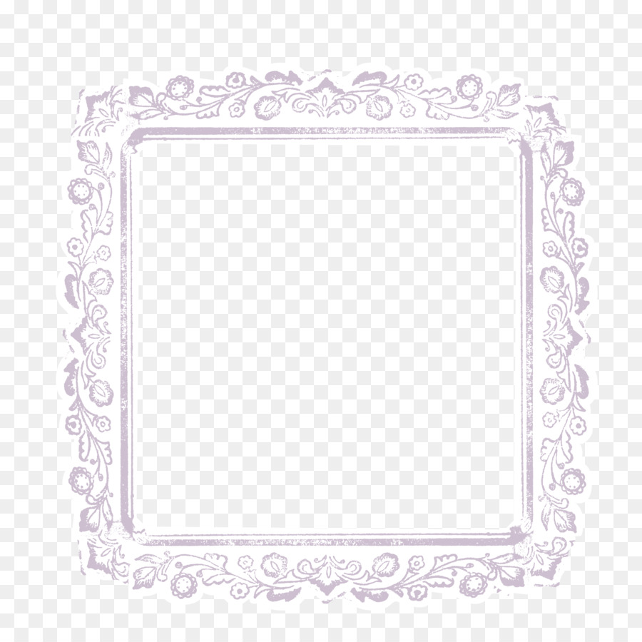 Lace Picture frame White Pin - Purple pattern block png download ...