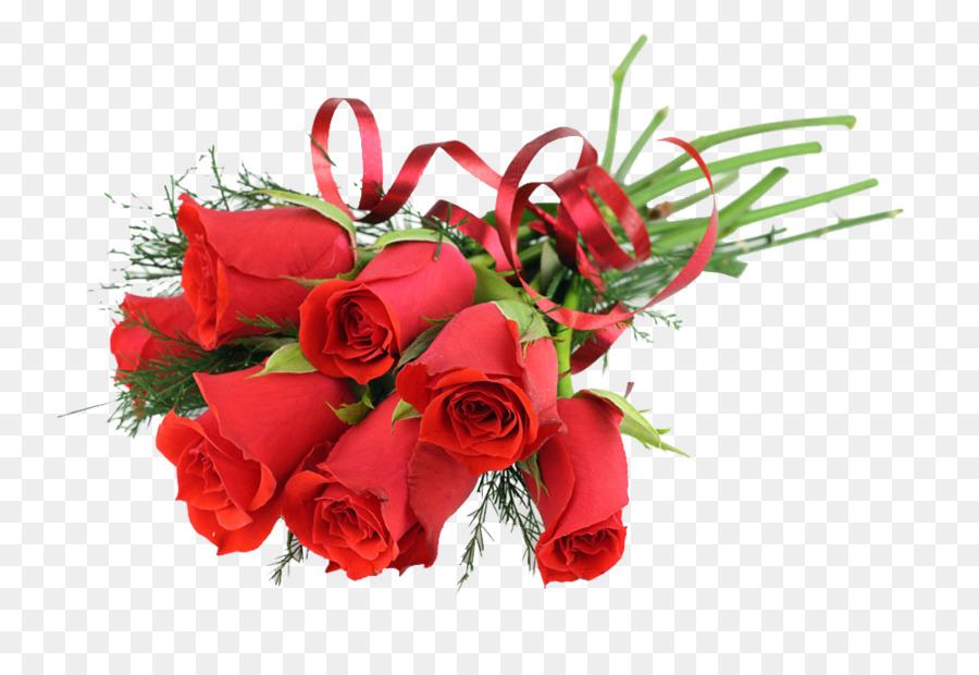 Bouquet Di Fiori Dono Clip Art Sette Mazzi Di Rose Scaricare Png