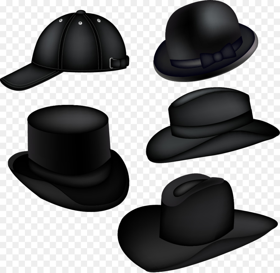 Top hat Party hat Baseball cap - Vector Hand-painted hat png download -  1025 1000 - Free Transparent Hat png Download. ff2a8361986