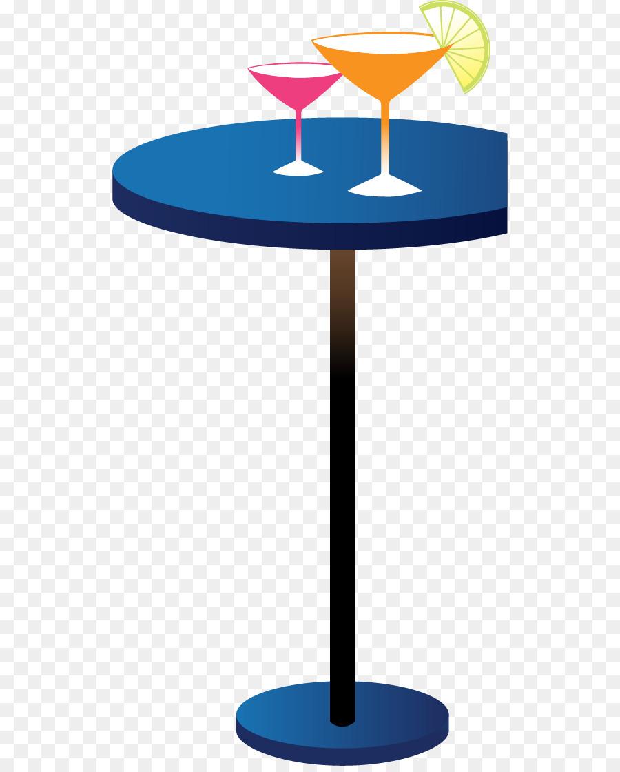 Cocktail Table Adobe Illustrator