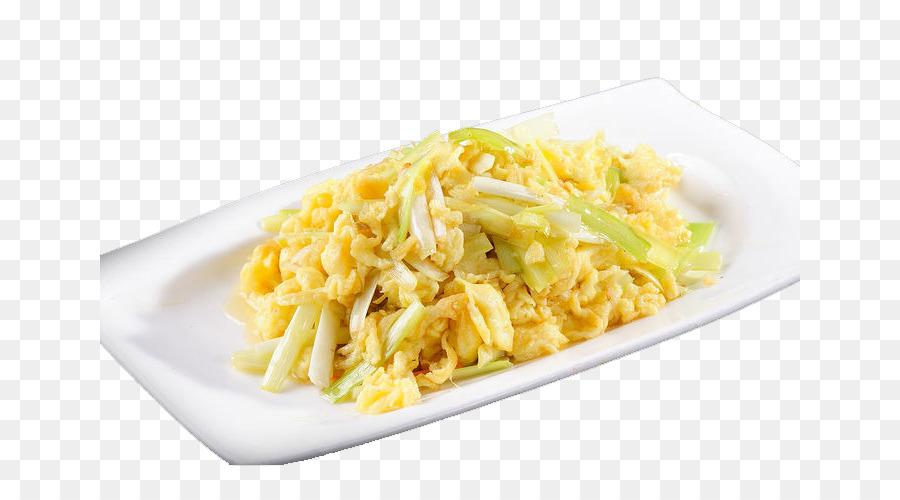 Carbonara Scrambled Eggs Fried Egg Spaghetti Recipe