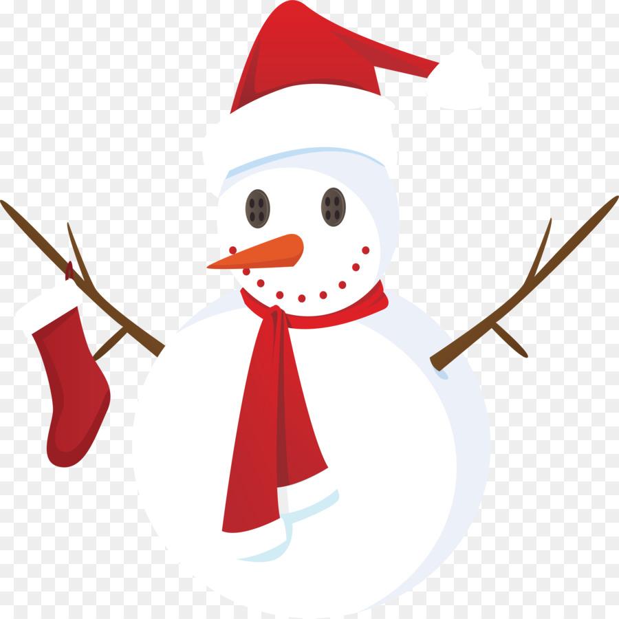 Santa Claus Christmas card Schneemann-Gruß-Karte - Weihnachts ...