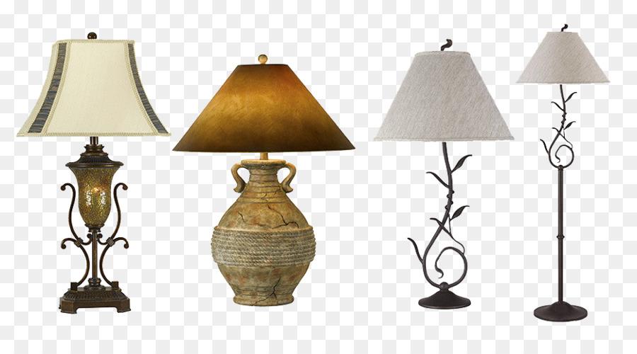 Table Lampe De Bureau Four Kinds Of Vintage Lamp Png Download