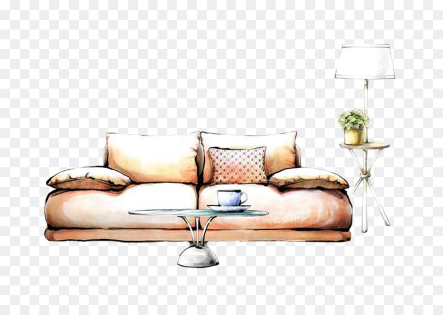 Interior Design Services Painting Drawing Decorative Arts   Hand Painted  Sofa
