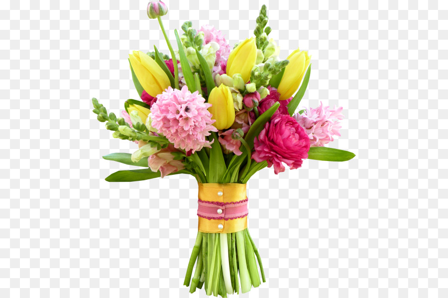 Flower bouquet Floristry Cut flowers - A bouquet of beautiful ...