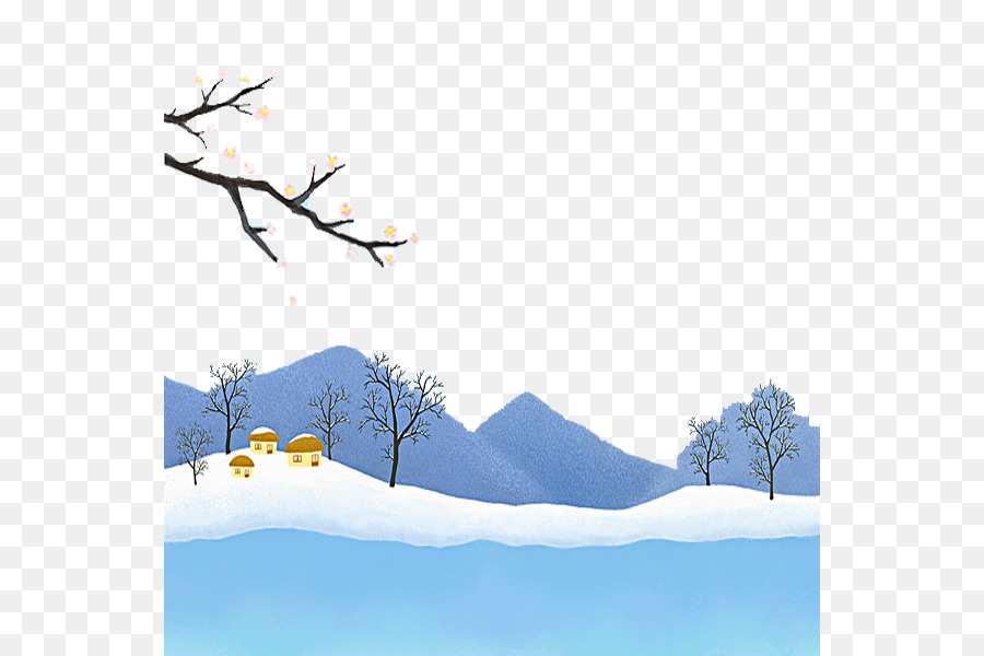 Clip Art Beautiful Snow Scene Png Download 600 600 Free