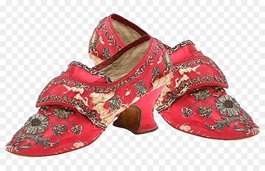 Shoemaking Boot Clothing High-heeled footwear - Red pattern shoes