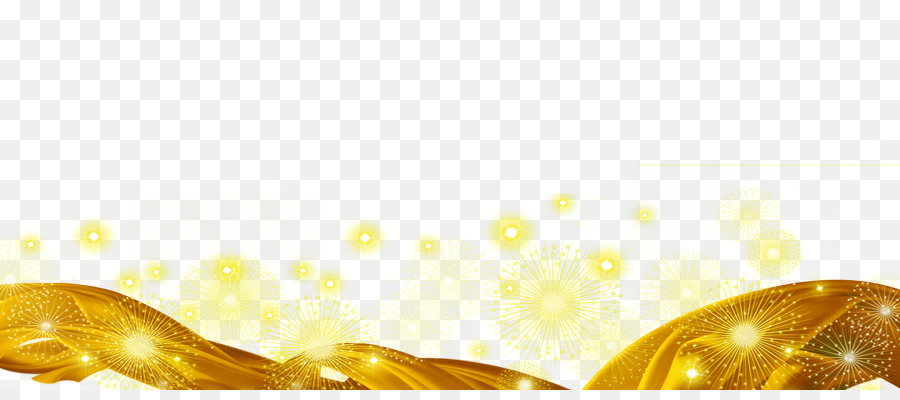Light Gold Ribbon Ribbon With Golden Light Png Download