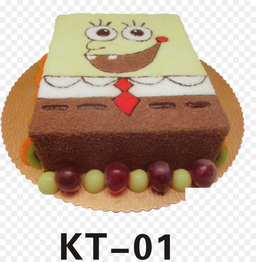 Schokolade Kuchen Torte Biskuit Spongebob Kuchen Png Herunterladen