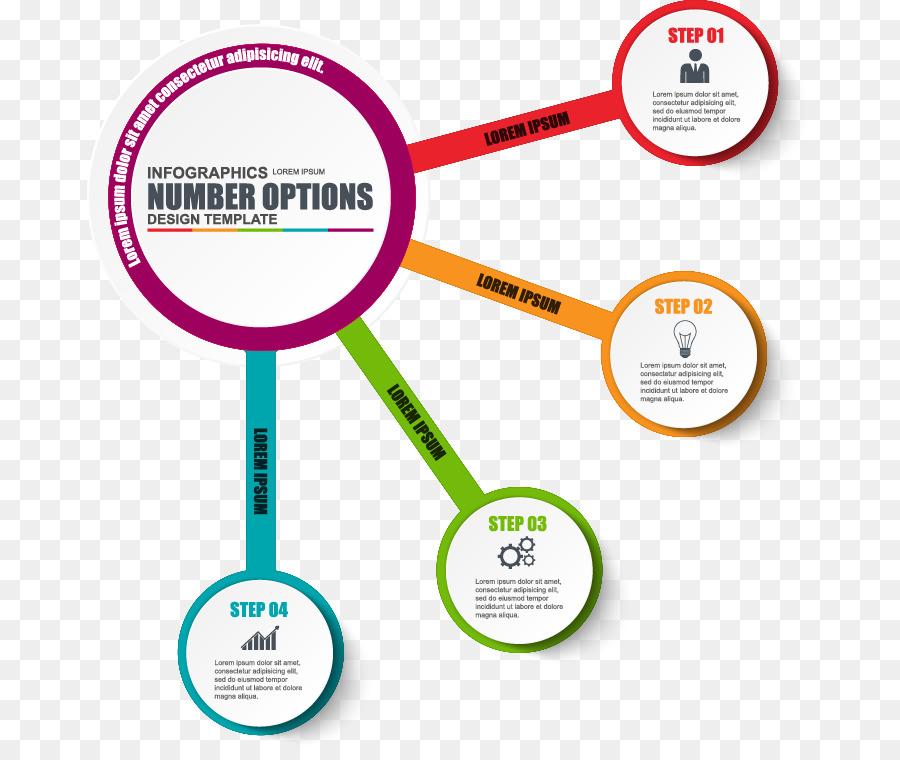 Infografía Diagrama De Flujo De Trabajo De La Plantilla - Vector ...