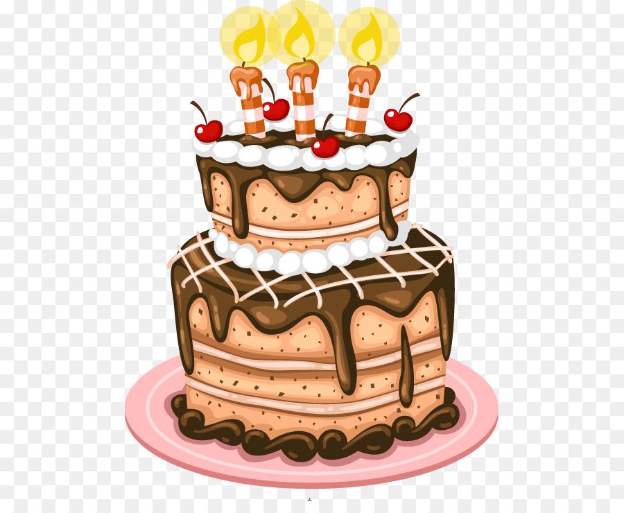 Birthday Cake Greeting Card Birthday Card Cartoon Cake Png