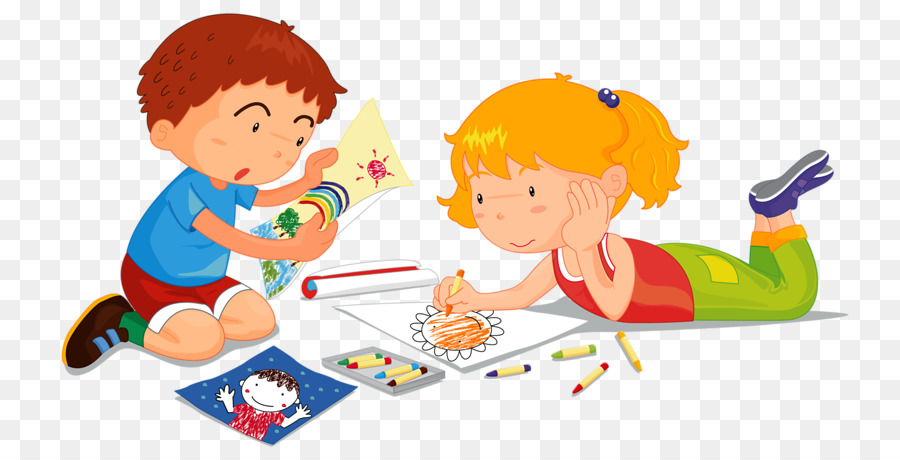 Childrens Drawing Painting Illustration Painting children png