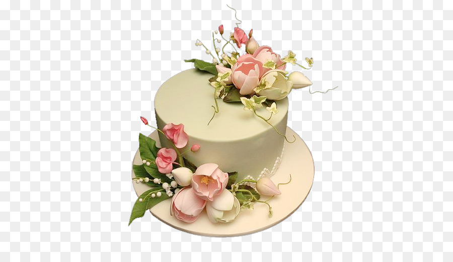 Birthday cake White chocolate Torte Pastel Fruitcake - Flower Cake ...