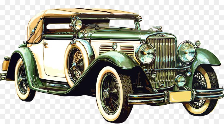 Sports Car Auto Show Kia Motors Classic Car Retro Old Car Png - Classic car motors