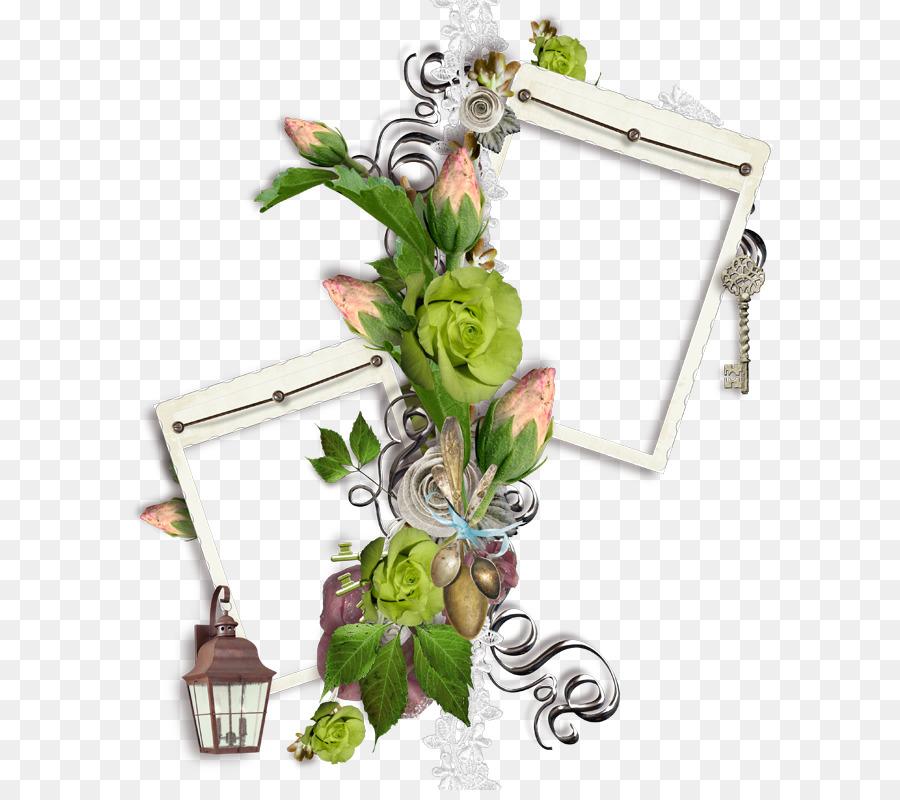 Flor de papel rosas de los jardines del marco de la Imagen - Floral ...
