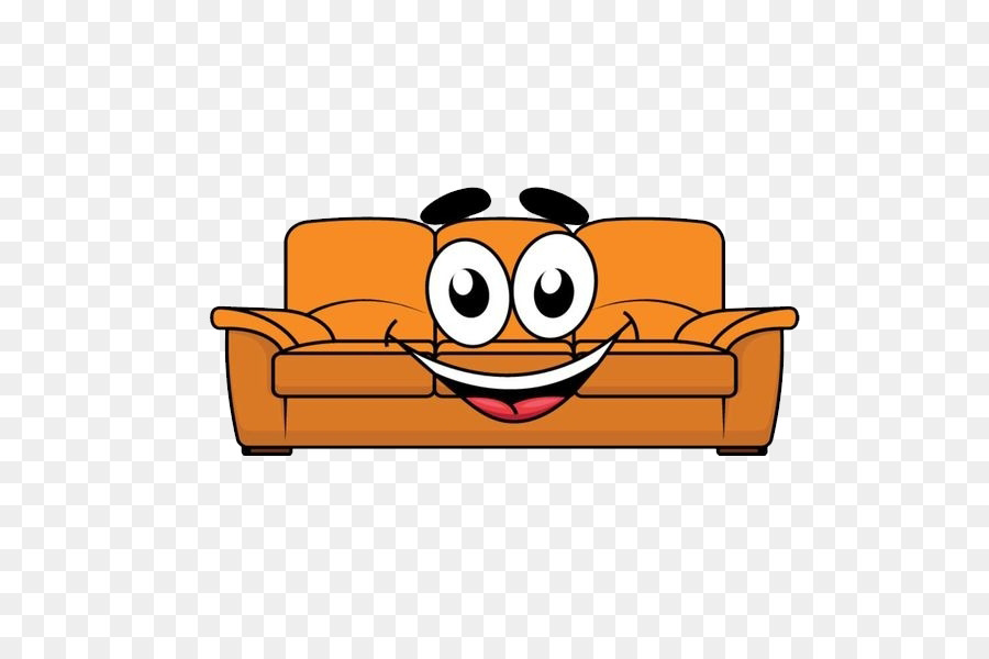 Furniture Cartoon Couch Illustration - Lovely sofa png download ...