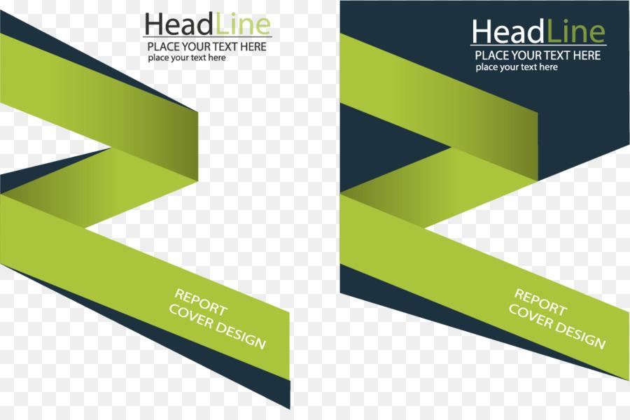 Verde - Vector verde de libros de negocios de diseño creativo ...