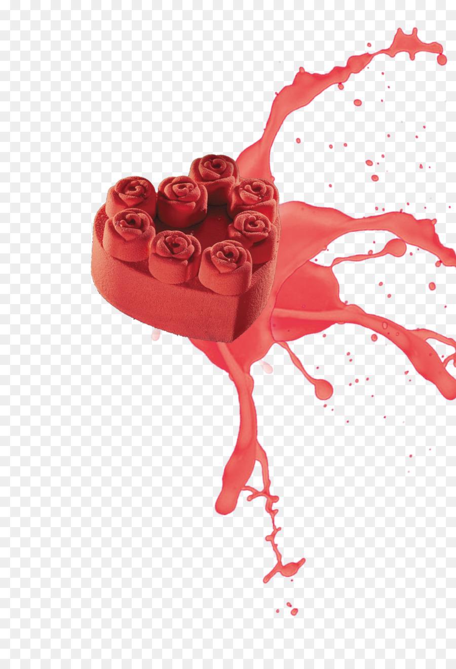 Plantilla De Cartel De La Pintura - Rojo Pastel,pastel,rosa Formatos ...