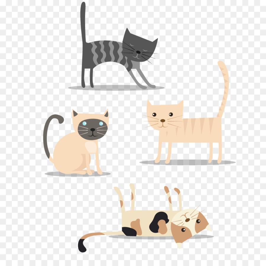 Gato de punto de Cruz Patrones de punto de Cruz Patrón - Lindo gato ...