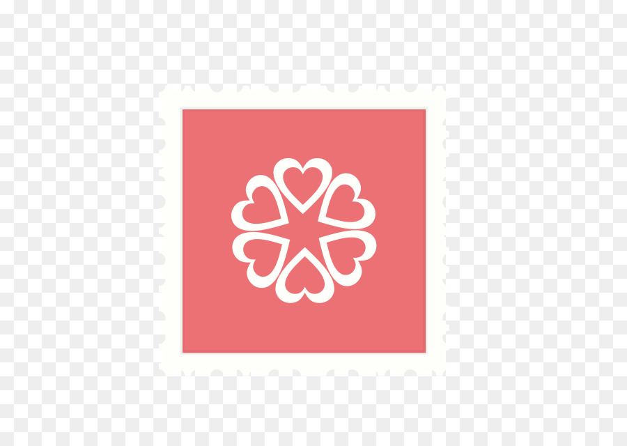 Scrollbar Web page Web template Logo - Stamps style Valentine\'s Day ...