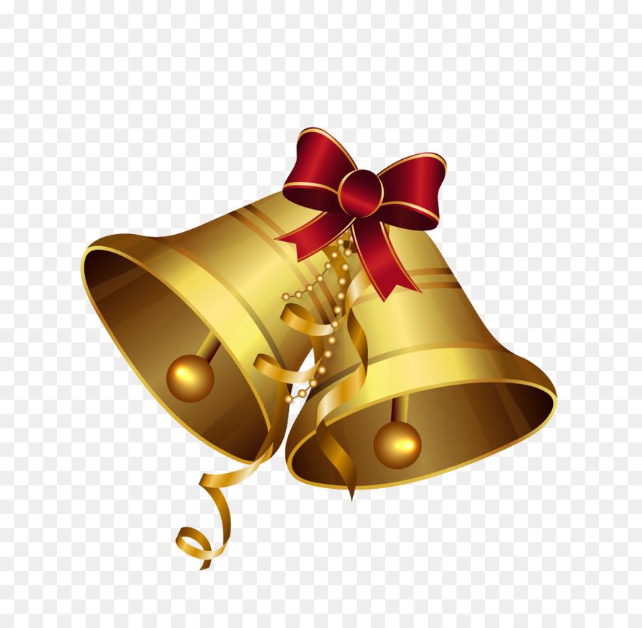 jingle bell download - golden bells png download - 1024*985 - free