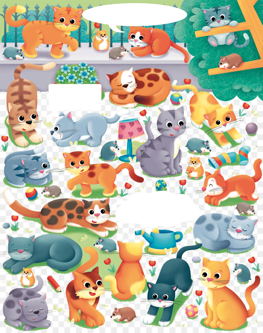 Gato De Hello Kitty Dibujos Animados Ilustración - Varios patrones ...
