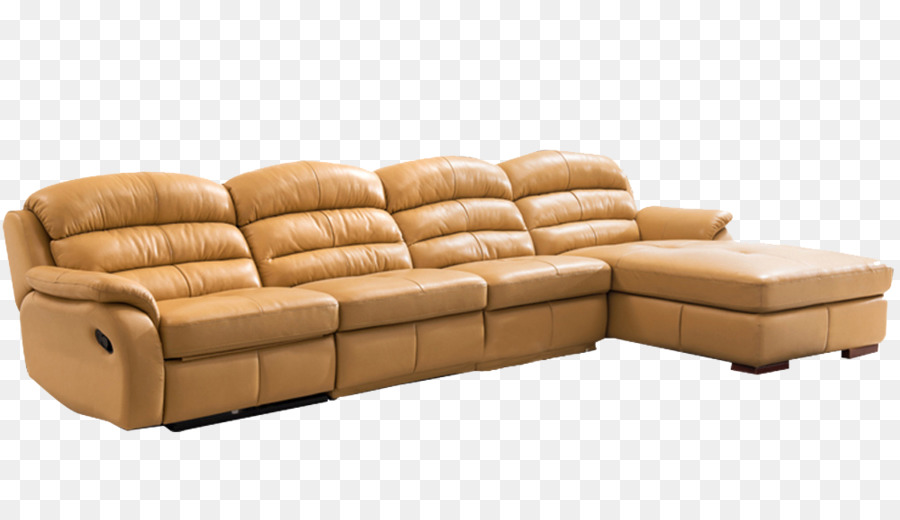 Recliner Couch Living Room   European Thick Leather Sofa Material