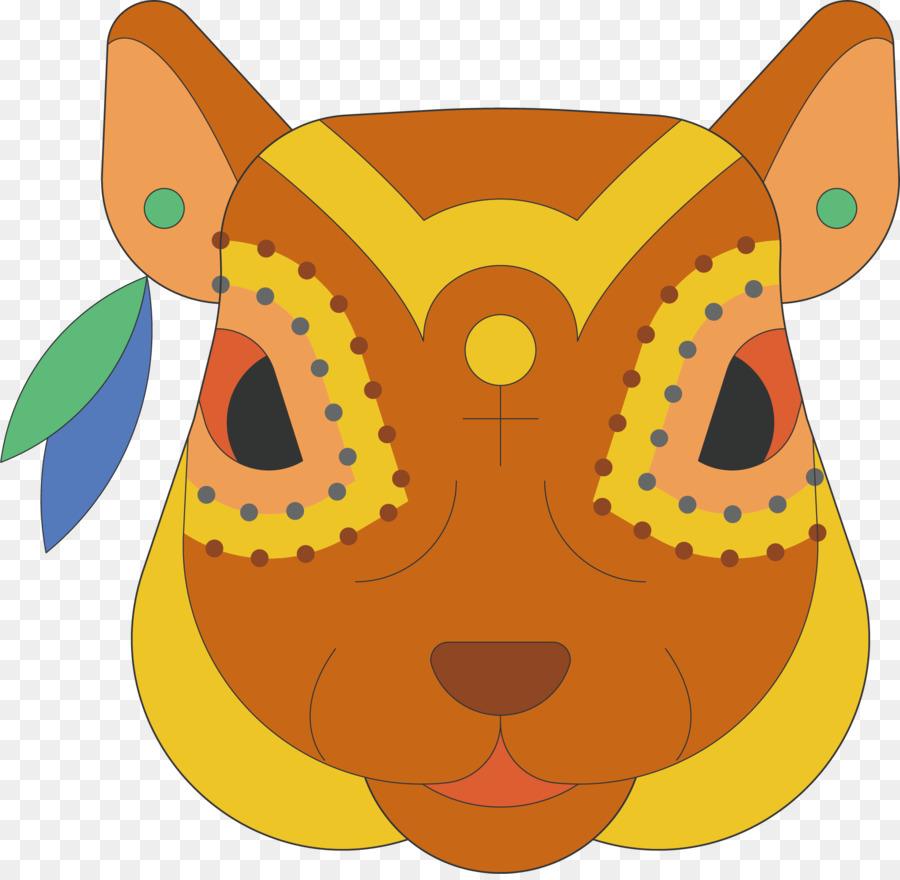 León Gato Tigre Jirafa Animal Vector Pintado A Mano De Color Del