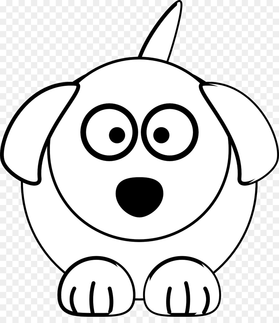 dog cat black and white clip art white dog png download 1129 rh kisspng com black and white hot dog clipart black and white dog bone clipart