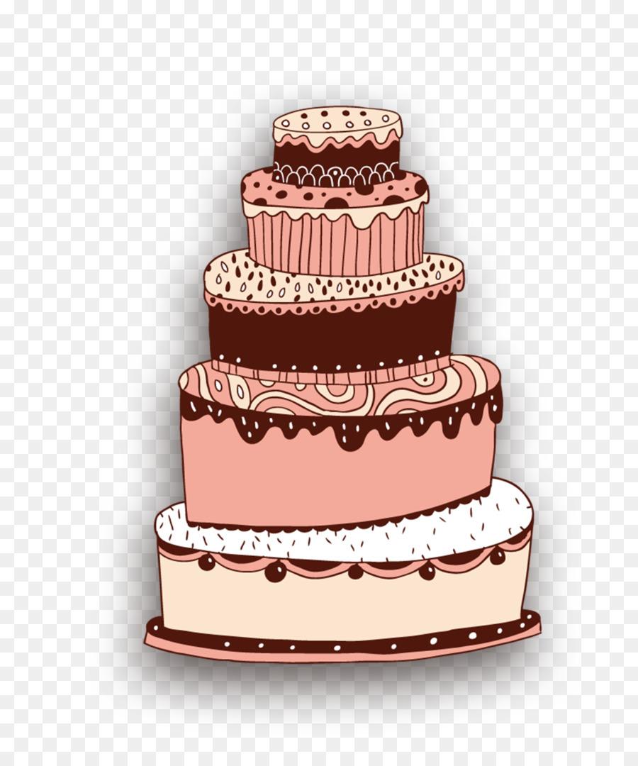 Layer Cake Birthday Cake Cupcake Wedding Cake Cartoon Cake Png