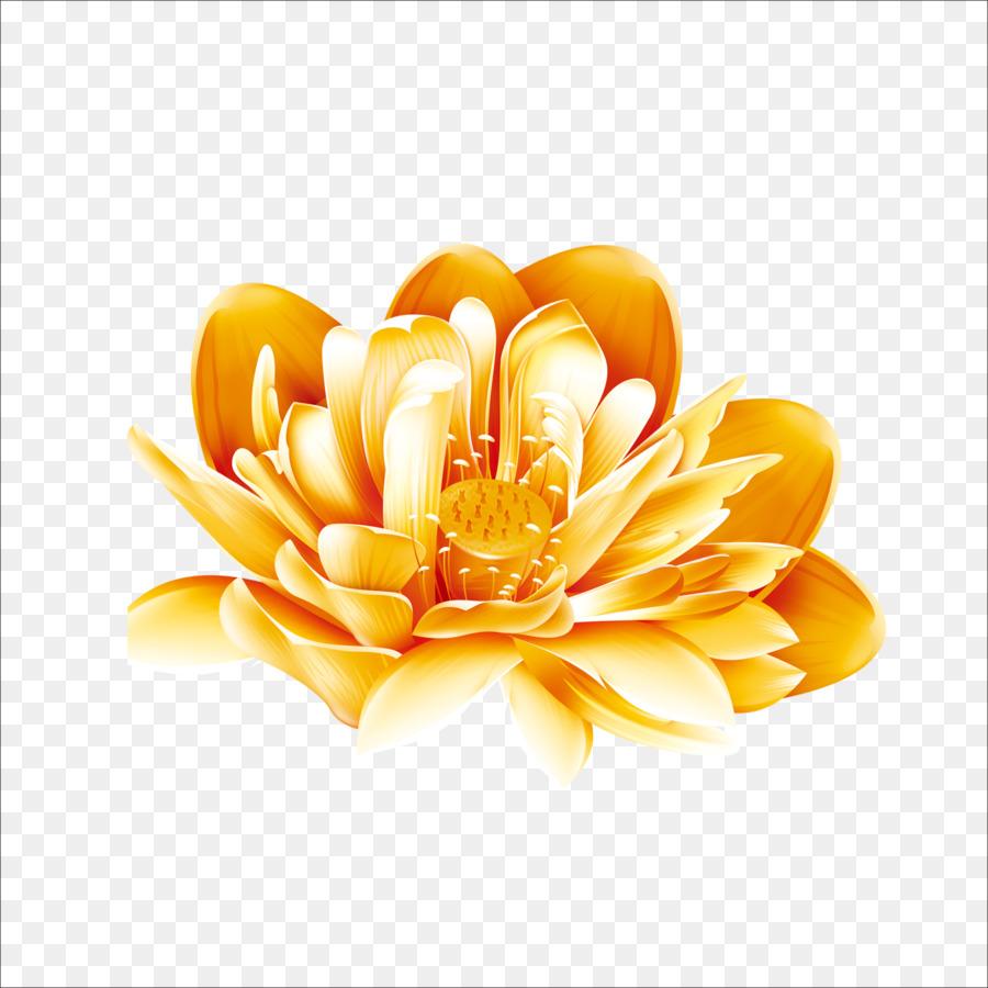 Gold Download Lotus Png Download 17731773 Free Transparent