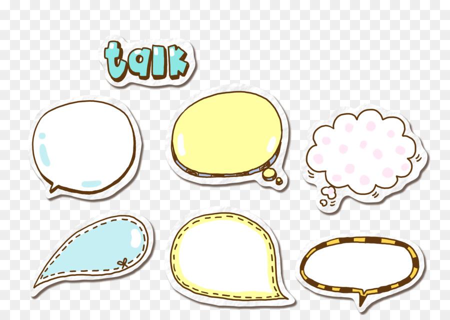 Globo De Diálogo De Dibujos Animados