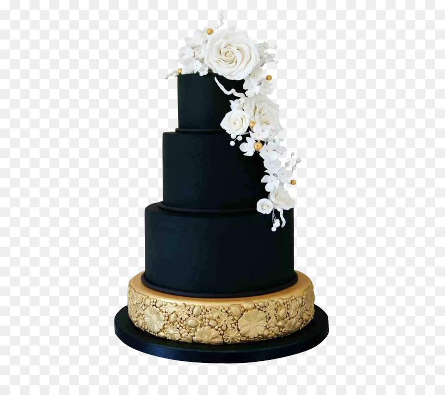 Wedding Cake Icing Birthday Cake Black Chocolate Layer Cake Rose