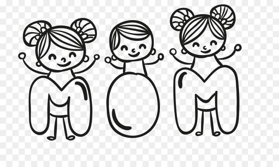 Anneler Günü Kitap çocuk Boyama Anne Ve çocuk Boyalı Png Indir