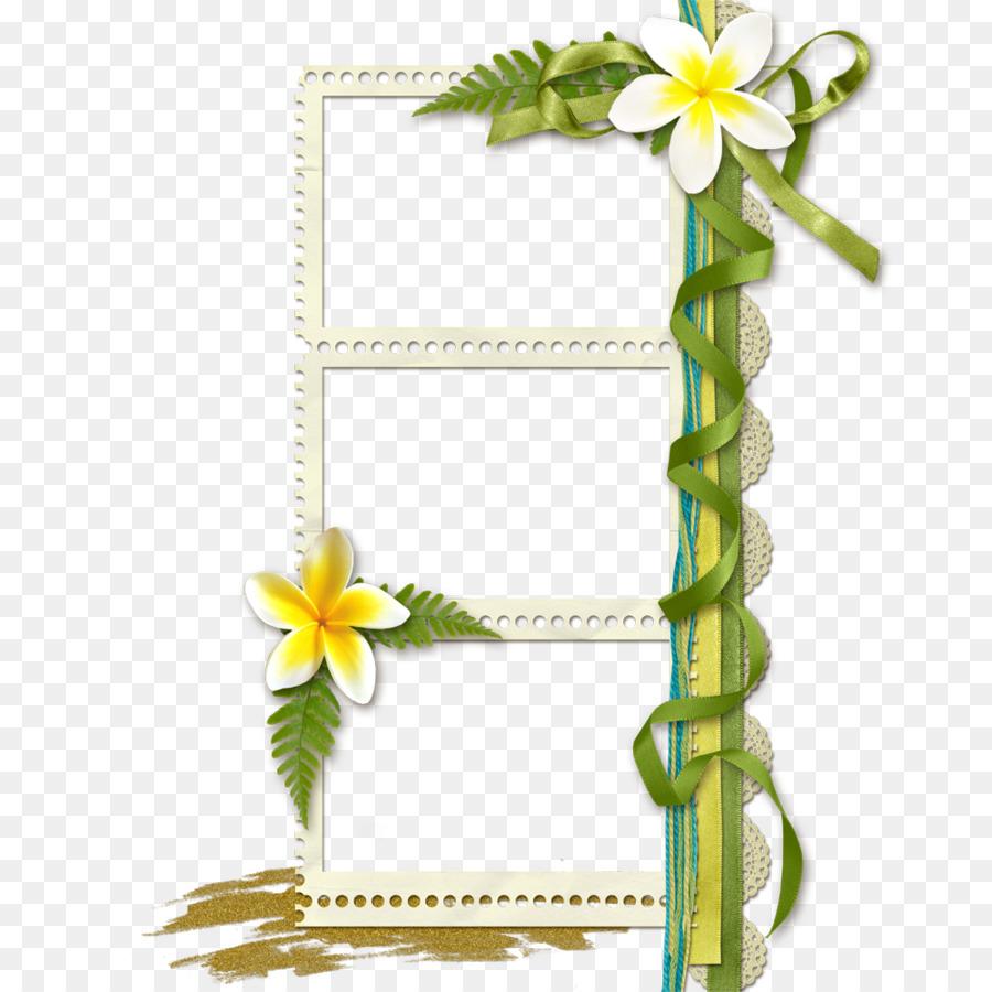 Floral Design Picture Frame Flower