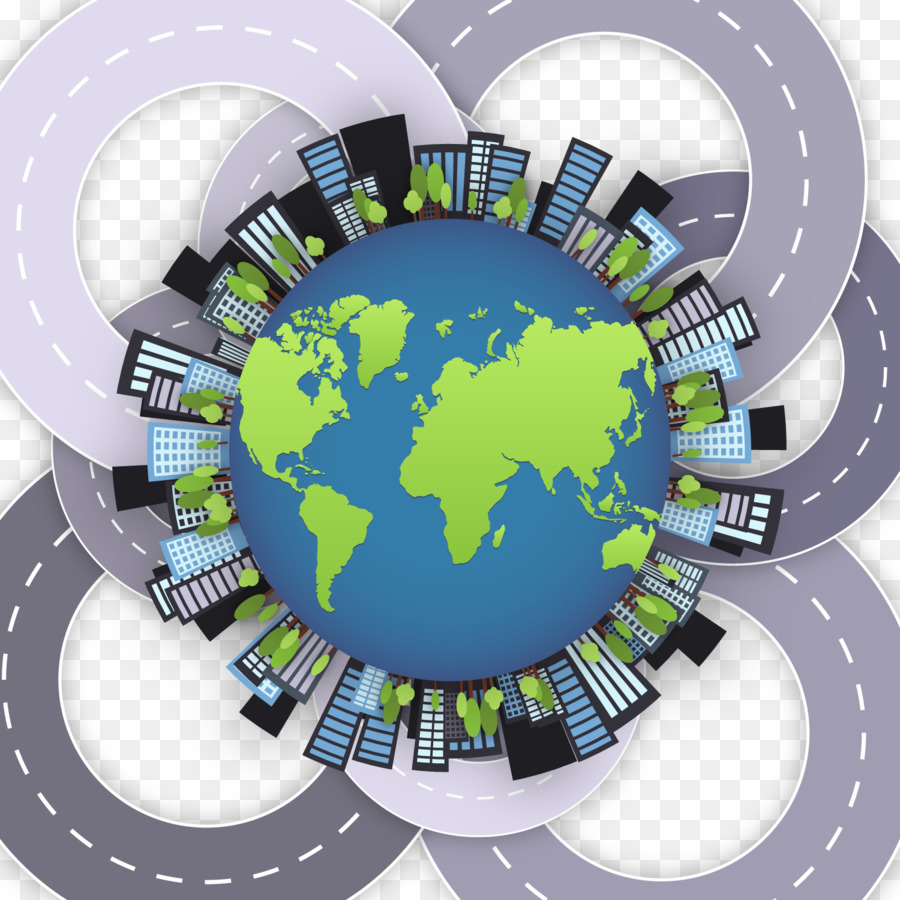Globe world map stock footage vector city traffic png download globe world map stock footage vector city traffic gumiabroncs Image collections