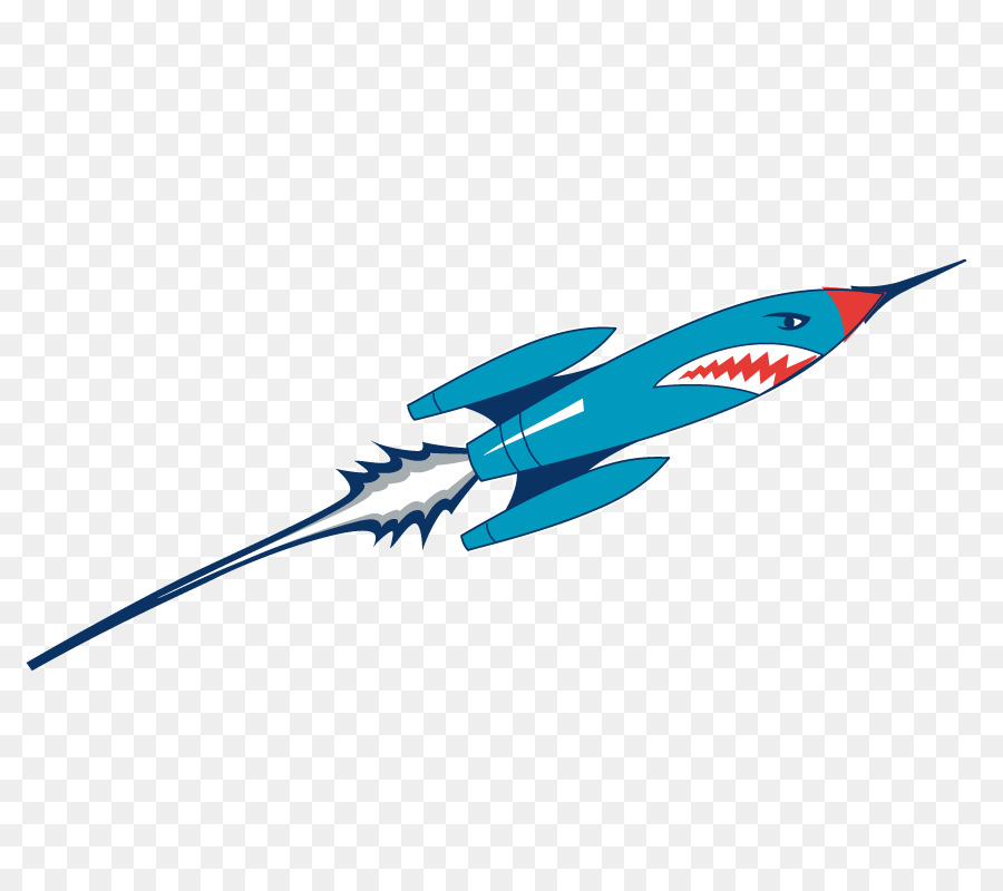 Euclidean vector Clip art - The rocket launch is a vector png